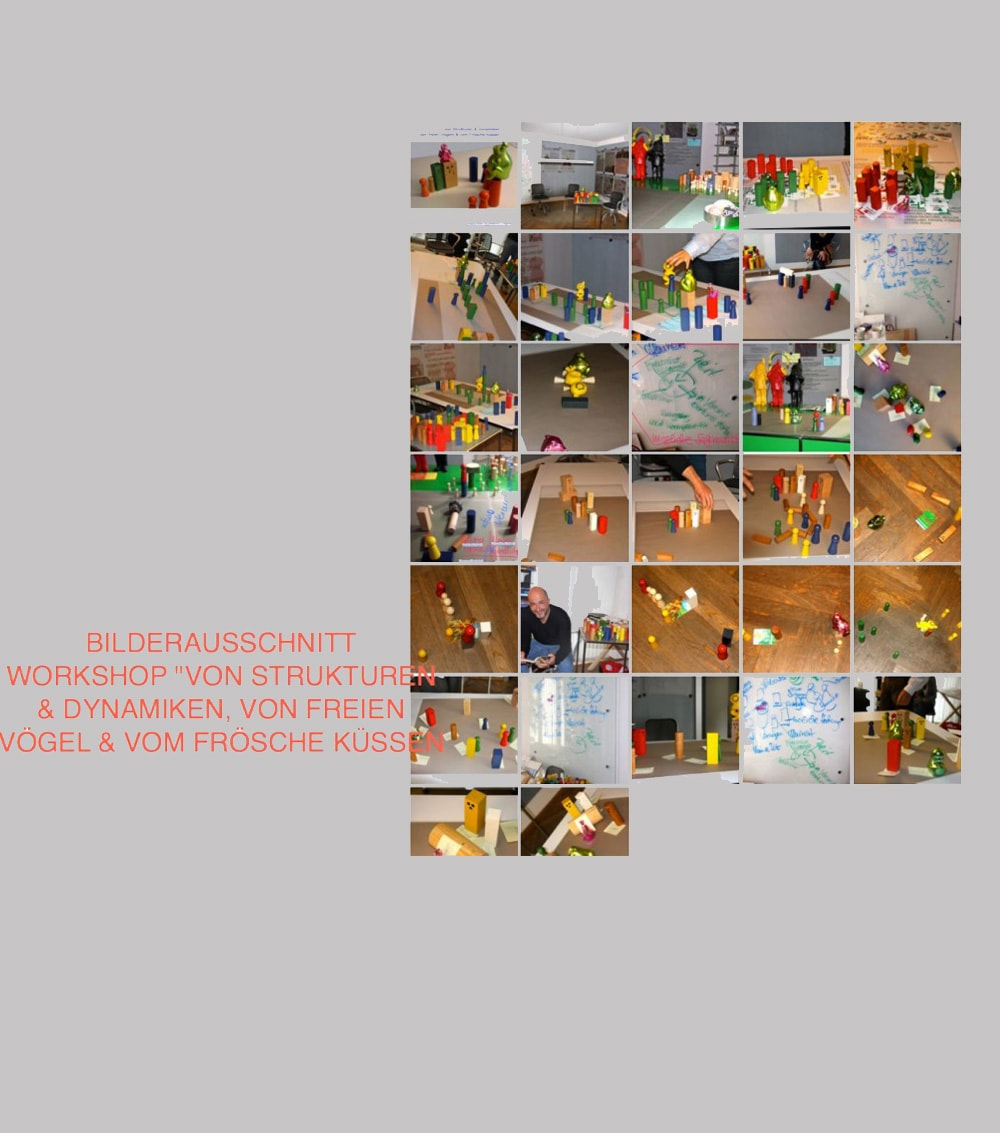 Der Workshop Arbeiten mit dem Systembrett